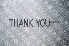 NERVOUSM Font UPDATE  Elegant San Serif Style Product Image 6