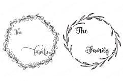 Family Monogram / Last Name Bundle - Sign Makers SVG DXF Set Product Image 5