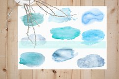 Watercolor hand painted textures Product Image 1