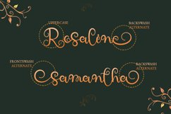 Holla Kalsa - Swirly Calligraphy Font Product Image 2