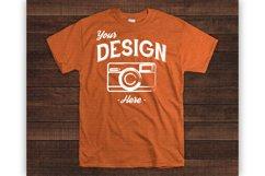 Wooden Background 70 Color Gildan Tshirt Mockup Bundle Product Image 5
