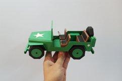 DIY Car - 3d papercraft Product Image 3