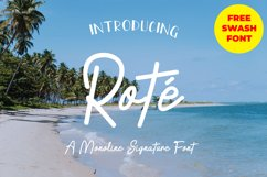 Rote Signature Product Image 1