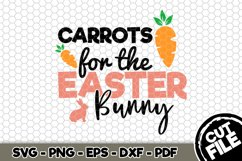Carrots For The Easter Bunny - SVG Cut File n182 Product Image 1