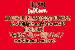 Happy Popcorn - Handwritten Font Product Image 6