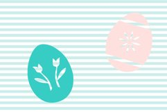 Decorated Easter Egg SVG and Cut File Set Product Image 3