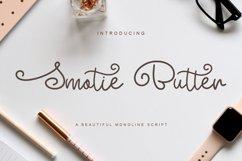 Smotie Butter Monoline Script Product Image 1