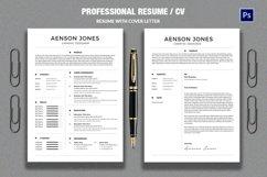 CV/Resume Product Image 1