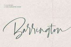 Barrington Signature Font Product Image 1