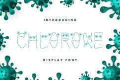 Web Font Chlorone Font Product Image 1