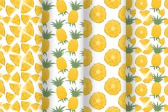 Pineapple hand drawn clip art Product Image 6
