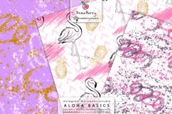 Cute Seamless Flamingo Pattern DP075 Product Image 3