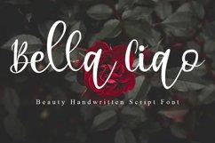 Bella Ciao Beauty Handwritten Script Font Product Image 1