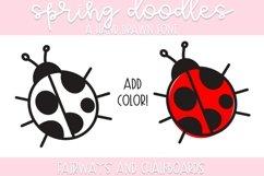 Spring Doodle Font   Doodle Font Product Image 3