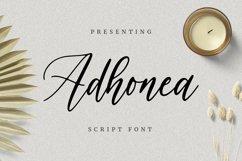 Web Font Adhonea Font Product Image 1