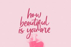 Adoredly Script Brush Font Product Image 3