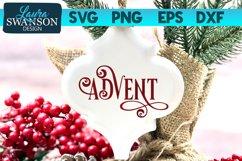 Advent SVG Cut File   Christmas SVG Cut File Product Image 1