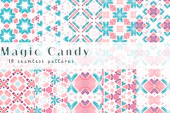 Magic Candy. Seamless patterns Product Image 1