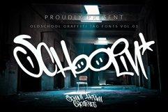 Schoolin - Graffiti Fonts Product Image 1
