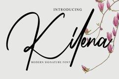Kilena - Modern Signature Font Product Image 1