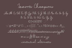 Immorts Champions - Script Font Product Image 5