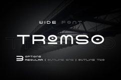 Tromso - Wide Font Product Image 3