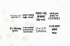 Law Of Attraction Quote SVG Bundle Volume 1 | Manifestation Product Image 7