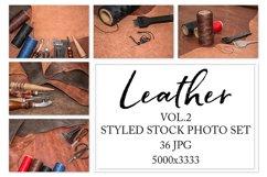 Leather. Styled stock photo set. Vol.1 Product Image 1