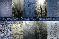 Winter windows with frost textures Product Image 4