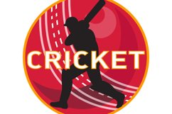 cricket player batsman sports ball Product Image 1