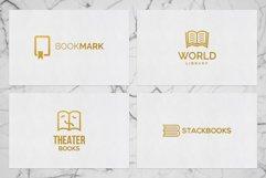 Books & Magazine Logos Bundle Pack Product Image 6