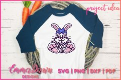 BELLA THE EASTER BUNNY SVG, MANDALA ZENTANGLE 2 DESIGNS Product Image 6