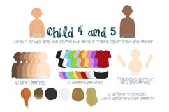 Build a Family  Character Builder   Family Builder PNG PSD Product Image 6