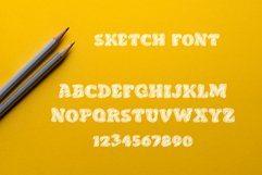 Doodle Classic - Sketch Font Product Image 4