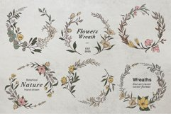 WILD FLOWERS Illustration Botanical Product Image 9