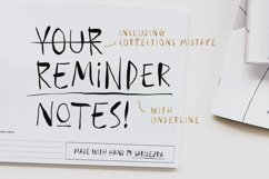 Reminder Notes - Handwritten Font Product Image 1