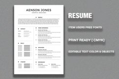 CV/Resume Product Image 3