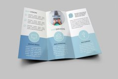 Corporate Trifold Brochure Product Image 4