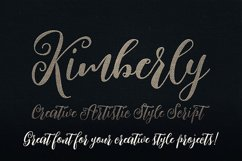 Kimberly Script Font Product Image 4