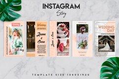 10 instagram wedding template set Product Image 3