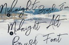 Midnight Brush & SVG Font Product Image 2