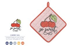 Cherry SVG   So Sweet SVG Product Image 1
