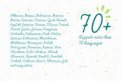 April—handwritten font Product Image 2