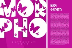 Monarch - Butterfly Display Font Product Image 3
