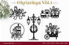 Vol.1 Christmas Bundle SVG Bundle Cut Files Product Image 4