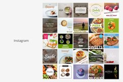 Food Social Media Banners Product Image 4
