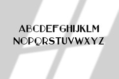 Strict and simple font Product Image 2