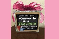 Teacher Square Print Product Image 2