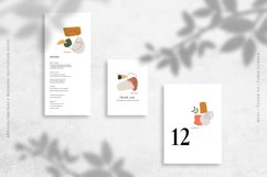 Artisan Abstract Wedding Invitation Suite Product Image 4