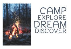 Going Camping - A Handwritten Font Product Image 5